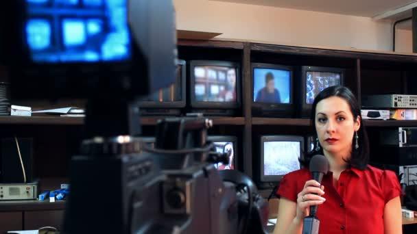 Felkészülés az élő tévéműsor felvétele