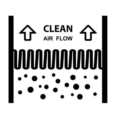air filter effect symbol