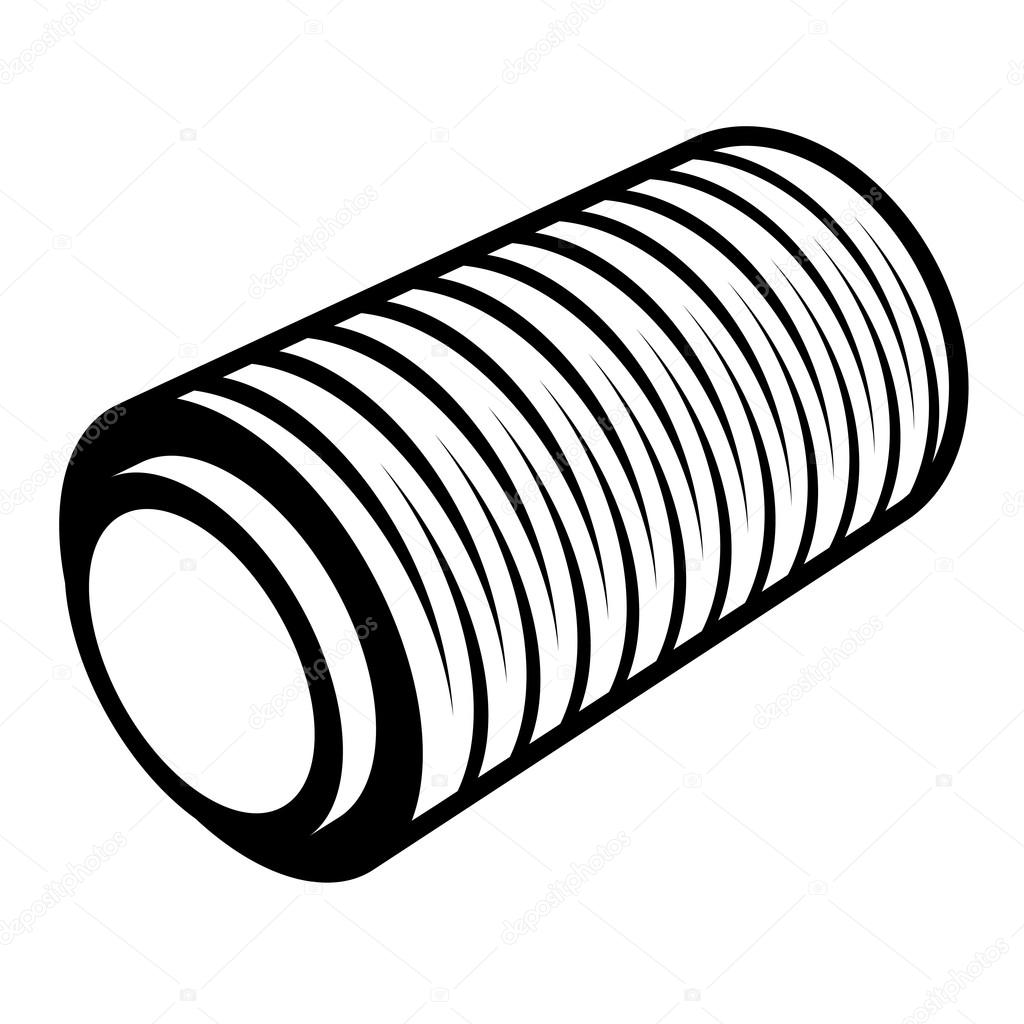roll of wrapping foil thread spool — Stock Vector © happyroman ...