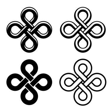 Endless Celtic knots