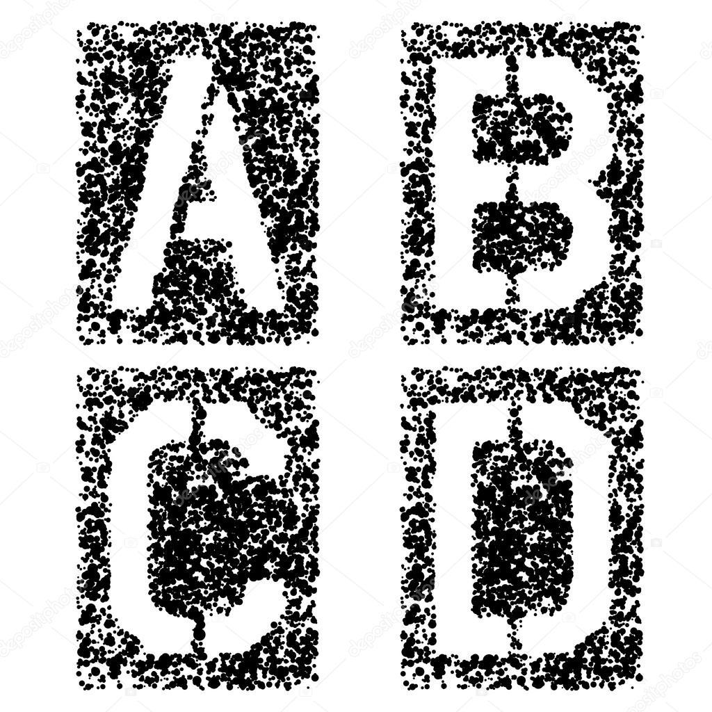 Gaelic Written Alphabet