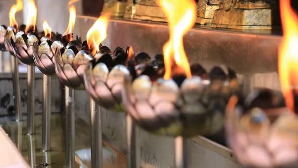 Oil Lanterns Of Wat Phathat Doi Suthep Temple Chiang Mai, Thailand