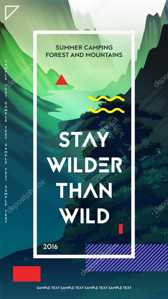 modern motivational poster template stock vector best works