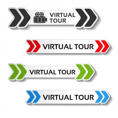 symbols for virtual tour