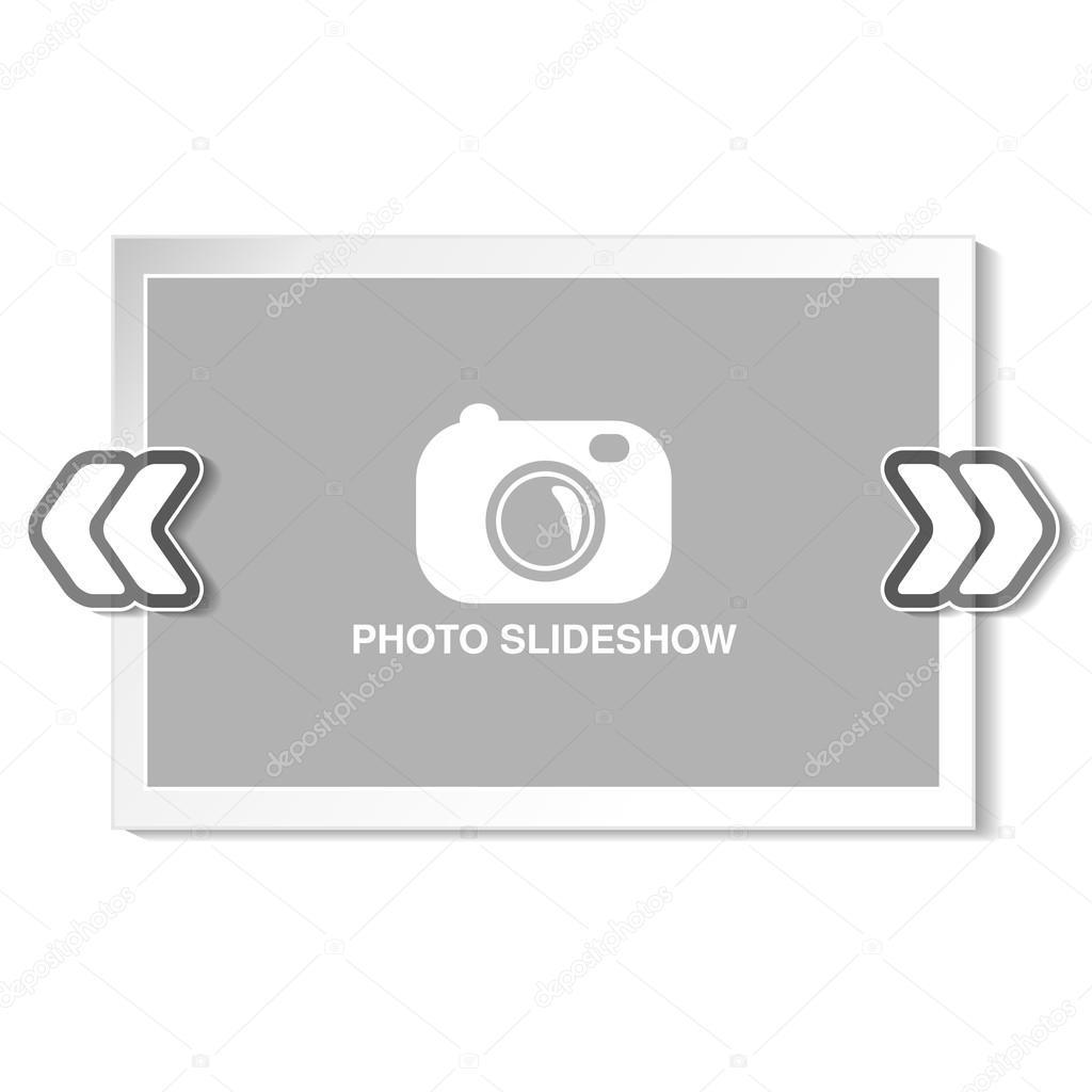 frame for website slideshow, — Stock Vector © Rena_Design #124411804