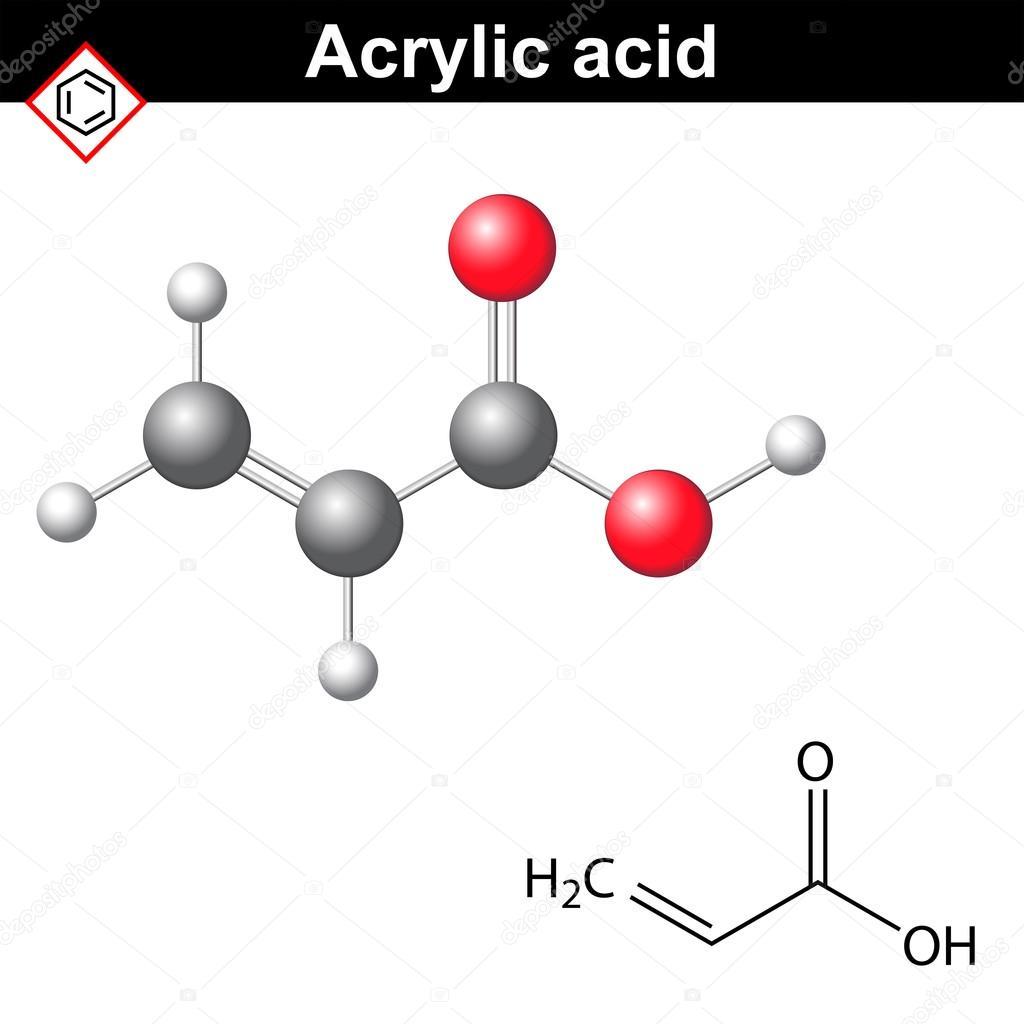 acrylic acid에 대한 이미지 검색결과