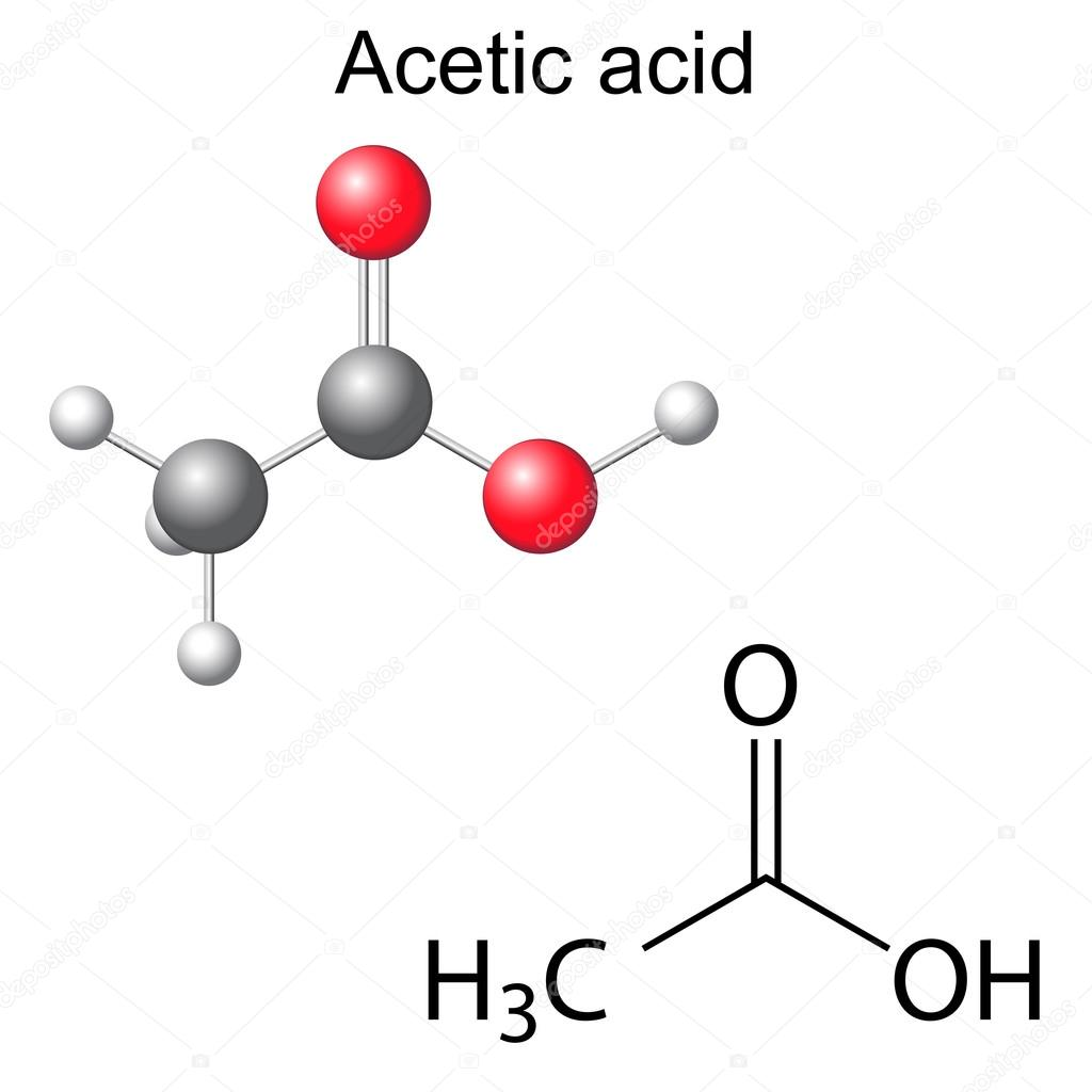 chemistry acetic acid Acetic acid: acetic acid (ch3cooh), the most important of the carboxylic acids a dilute (approximately 5 percent by volume) solution of acetic acid produced by fermentation and oxidation of natural carbohydrates is called vinegar a salt, ester, or acylal of acetic acid is called acetate.
