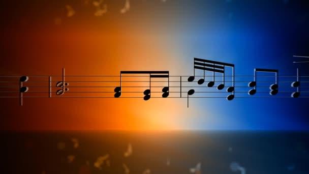 musica di sottofondo di note