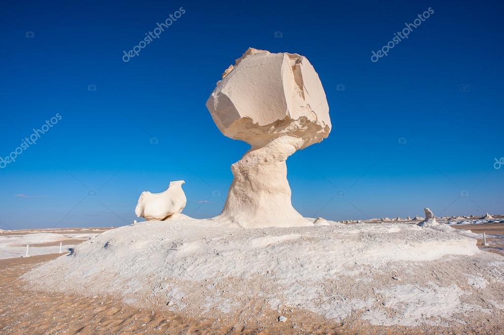 Western White Desert National Park of Egypt