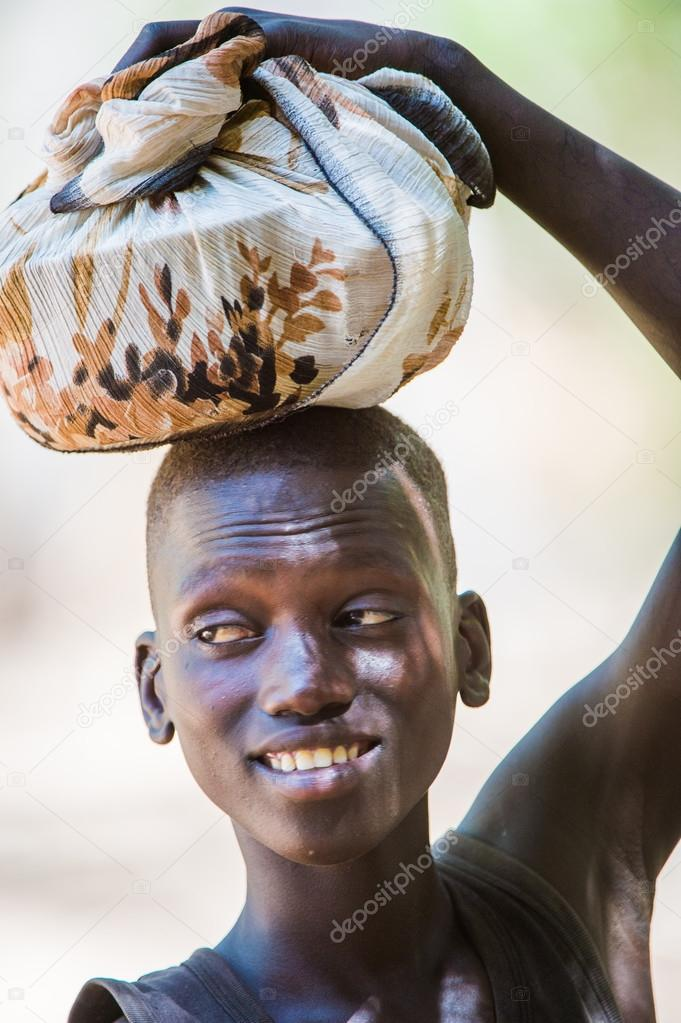 Real people in Gambia, Africa