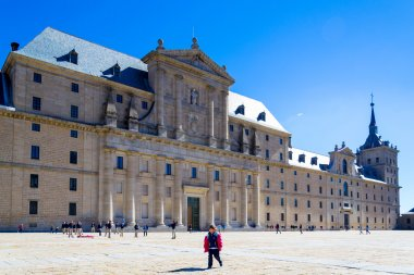 El Escorial, Madrid, Spain. UNESCO World heritage site