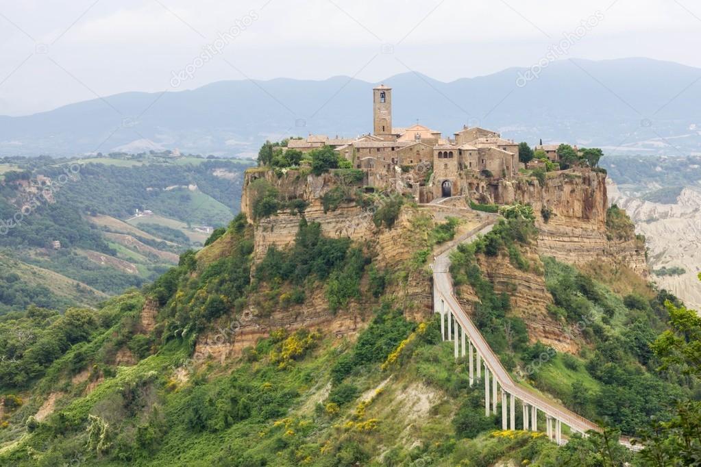 Civita di Bagnoregio — Stock Photo © fpwing_c #97540956