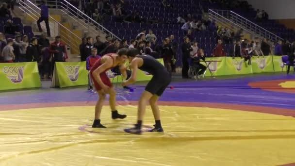 Amature wrestling video