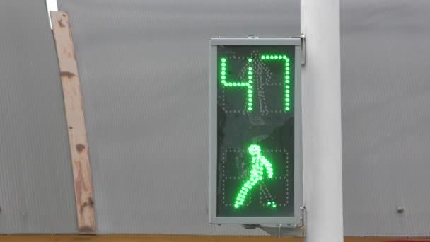 Visszaszámlálás idő a közlekedési lámpa