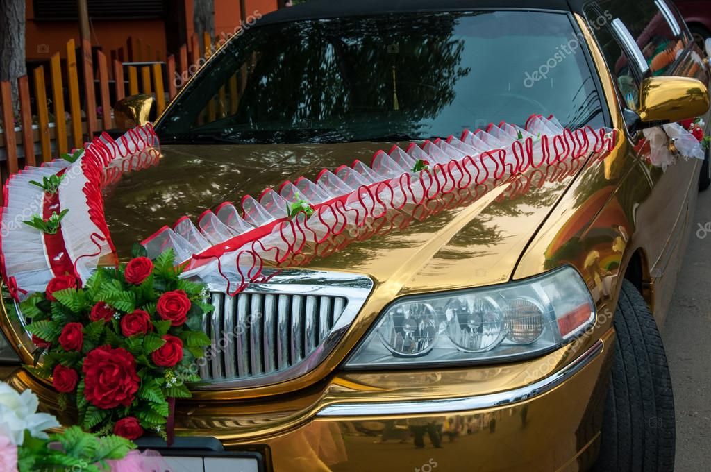 Wedding Car Decoration Stock Photo Galkin57 52448135