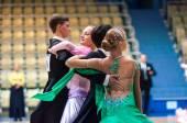 Mladé páry soutěžit ve sportovním tanci