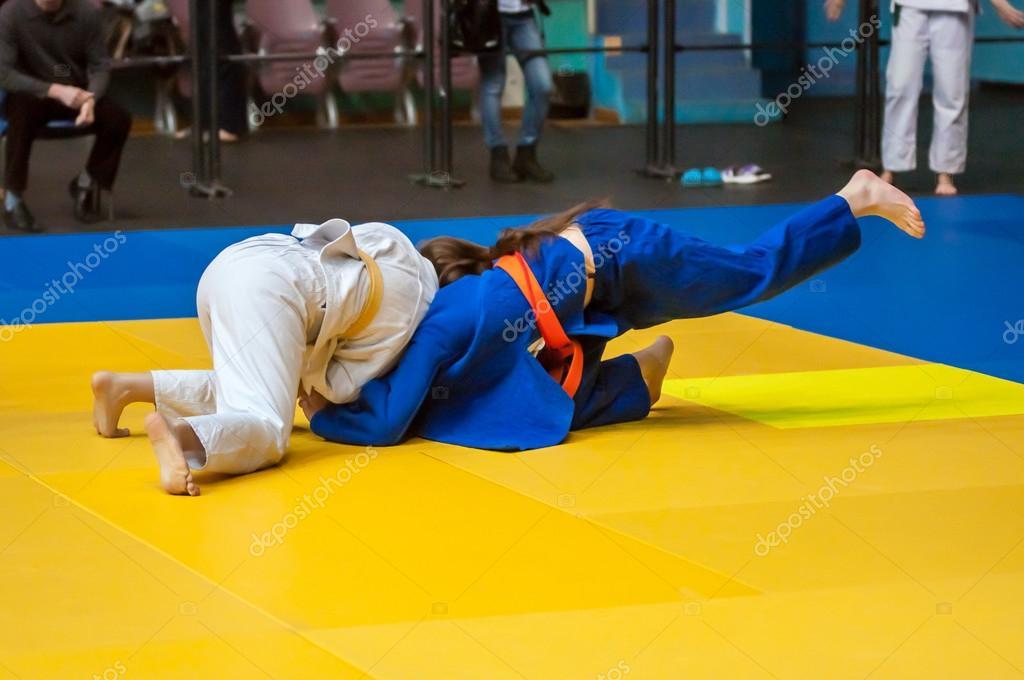 Girls in Judo