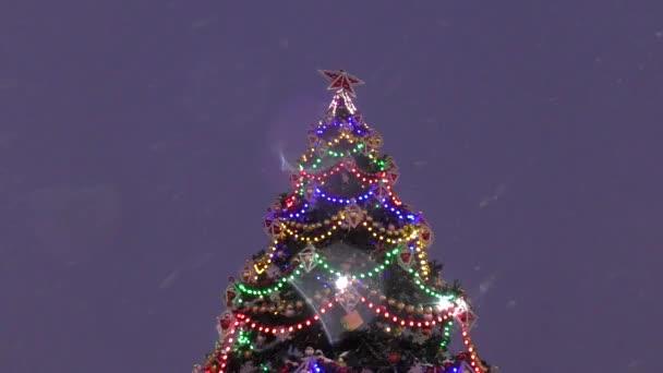 Osvětlení na vánoční stromeček na Silvestr