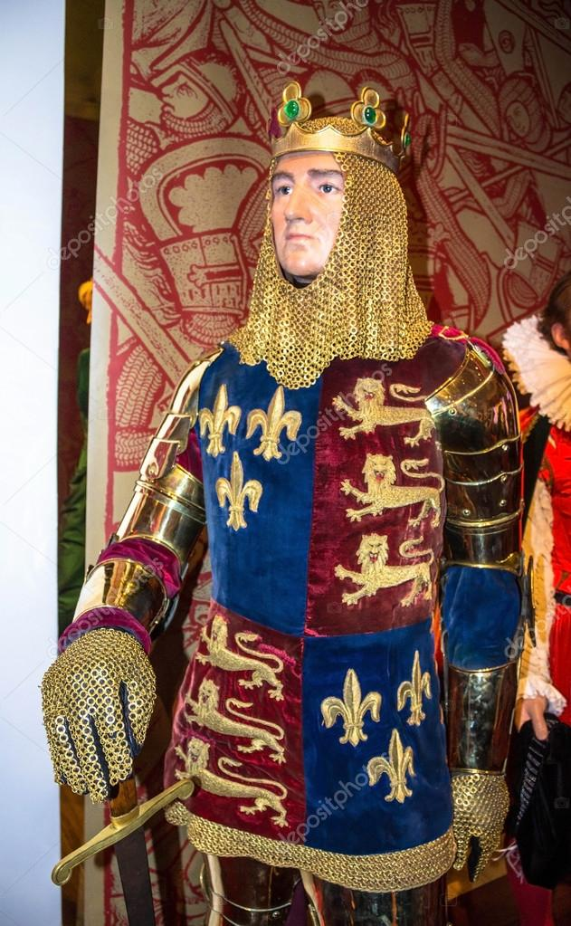 Wax Richard Madame Tussauds at King England of Museum Lionheart 0qxHOw0S