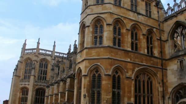 Part of St. George Chapel Inside Medieval Windsor Castle