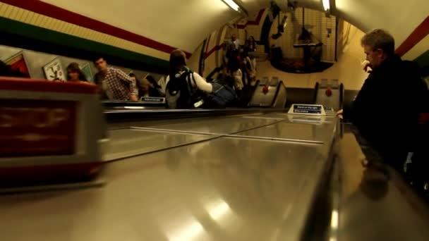 Unidentified Passangers at Underground. London