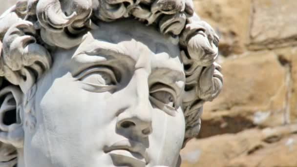 detail detail Michelangelova socha Davida