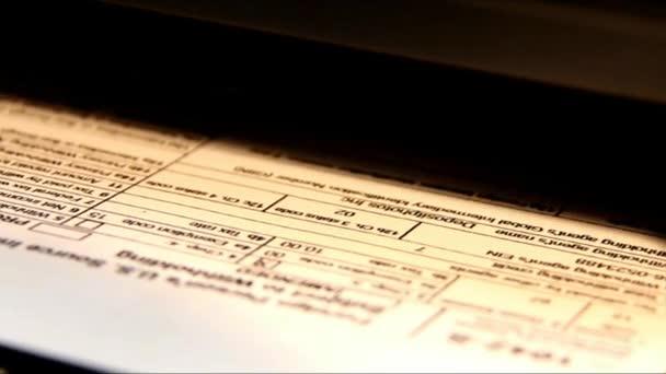 Ukončete tisk dokumentu papír s Ink-Jet tiskárny