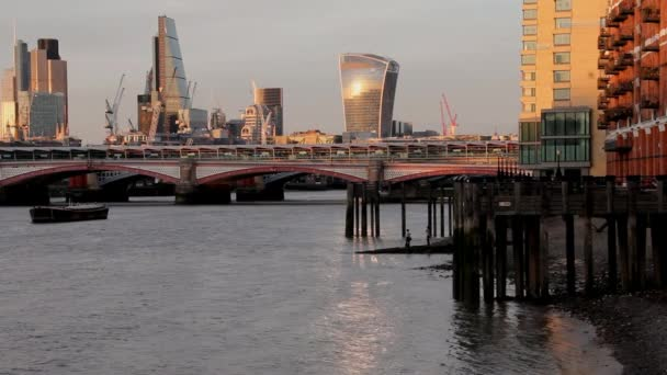 Cityscape From South Bank of the Thames. London, England