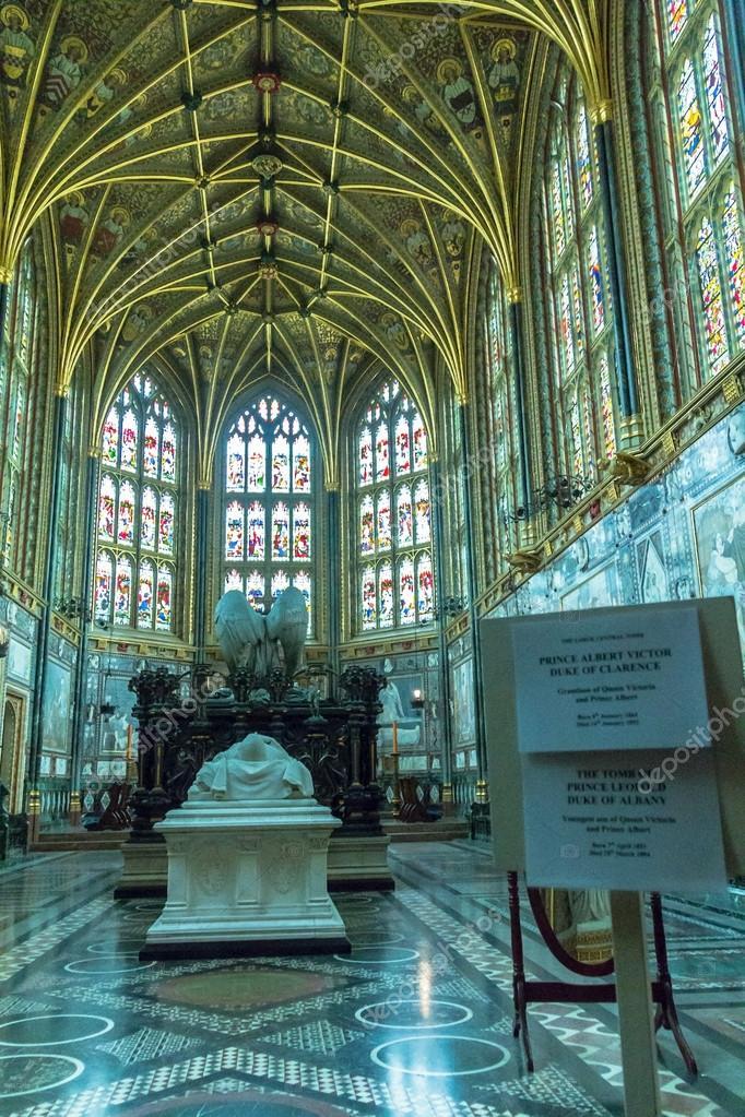 Wewn trz kaplicy st george zamek w windsorze wielka for Interieur windsor