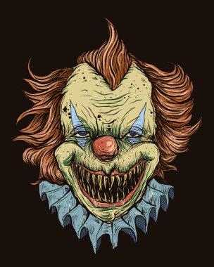 Killer Clown Head