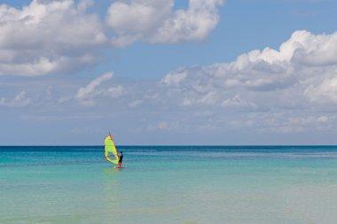 holiday windsurfing