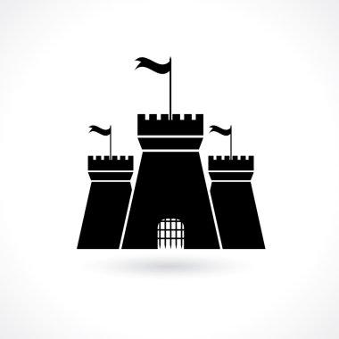 Icon of prison stock vector
