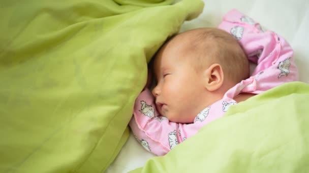 roztomilé děťátko spí