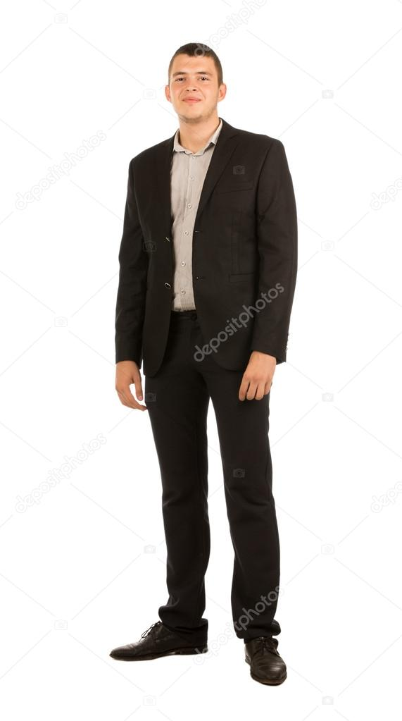 Young Smiling Good Looking Man in Corporate Attire