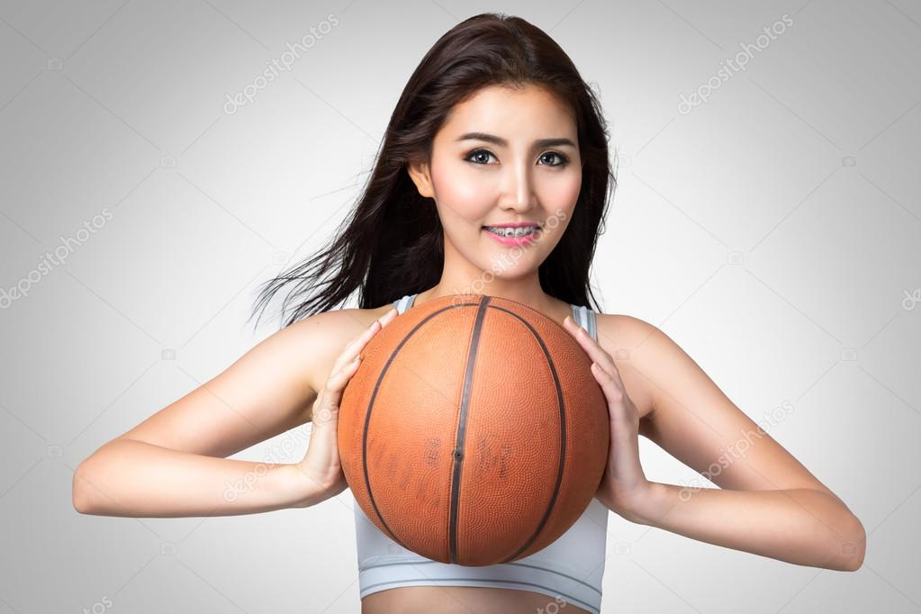 Sexy this women with basketball pics words