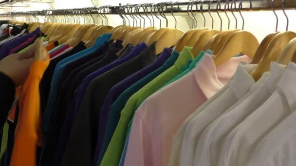 Man at the clothes shop