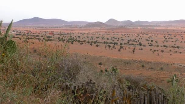 Maroko venkovské pouštní krajina