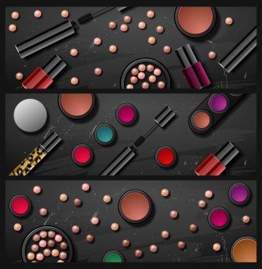 decorative cosmetics make up accessories beauty