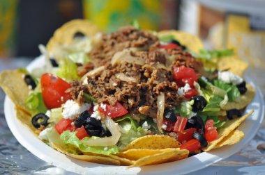 Taco Nacho Salad