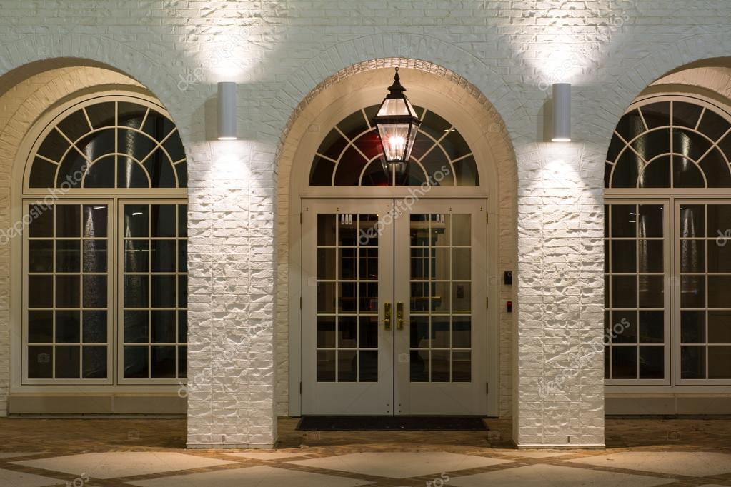 Archway and Doors \u2014 Stock Photo & Archway and Doors \u2014 Stock Photo © ejkrouse #98141954