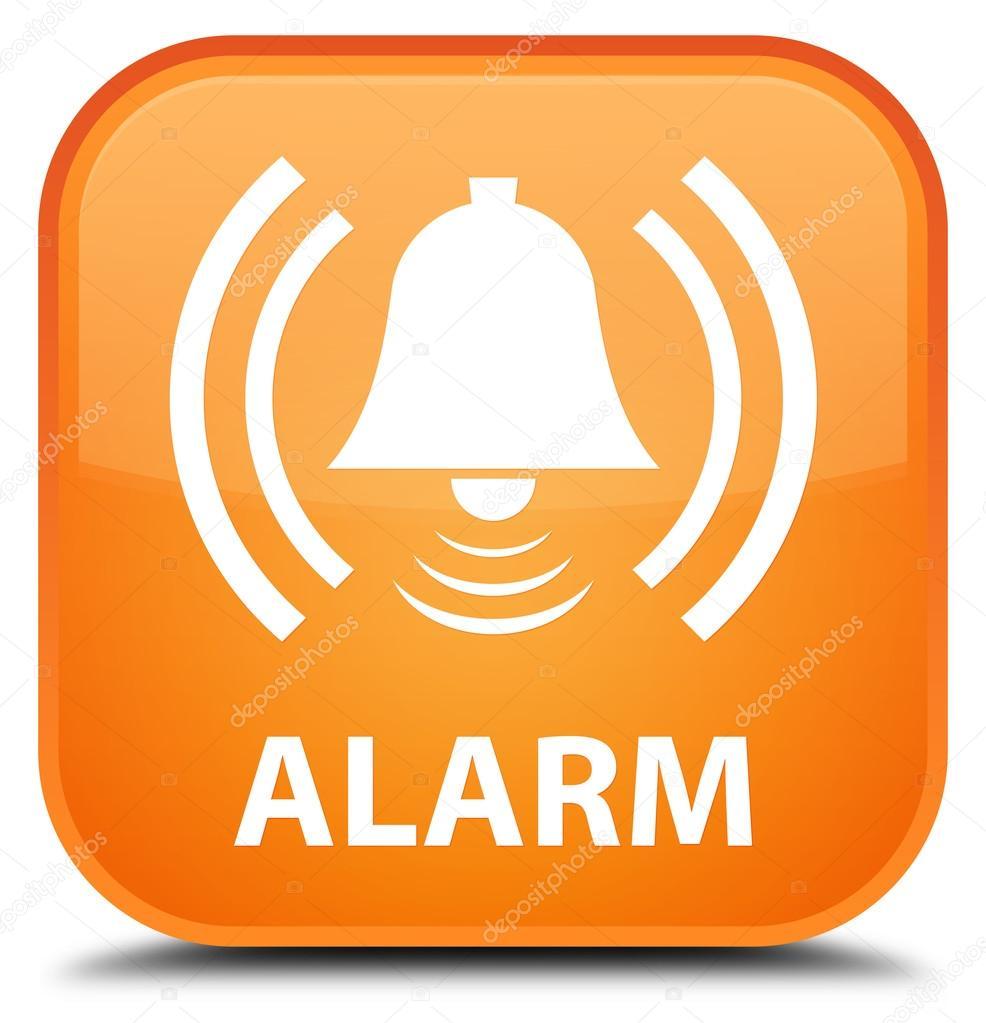 alarme orange