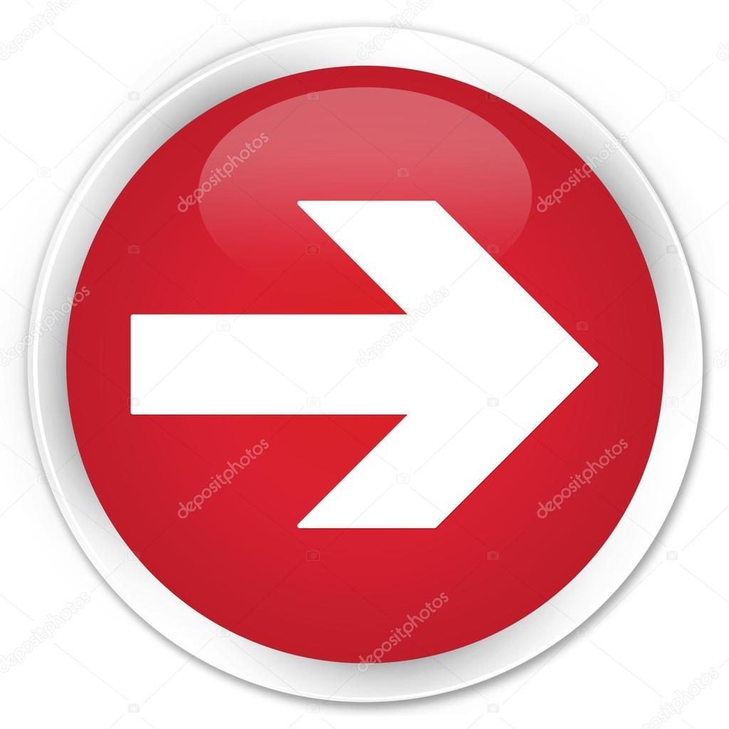 Next arrow icon red button