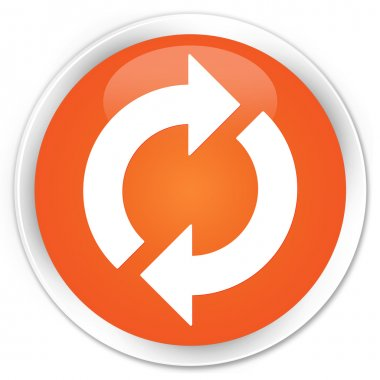 Update icon orange button
