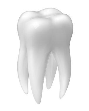 Vector molar tooth icon
