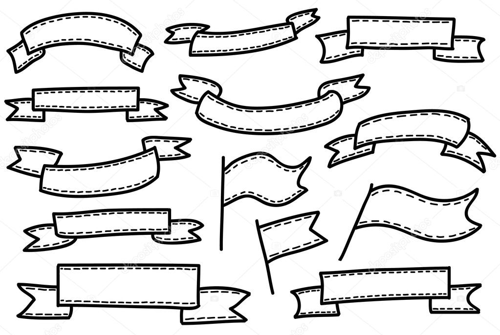 cintas de bosquejo — Archivo Imágenes Vectoriales © Ta_Ti #55349509