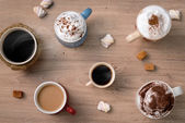 Fotografie Süße Kaffee-Unternehmen