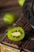 Green Organic Kiwi Berries