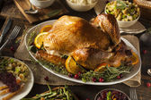 Photo Whole Homemade Thanksgiving Turkey
