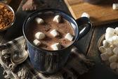 Photo Homemade Dark Hot Chocolate