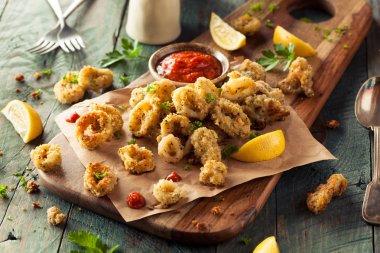 Homemade Breaded Fried Calamari